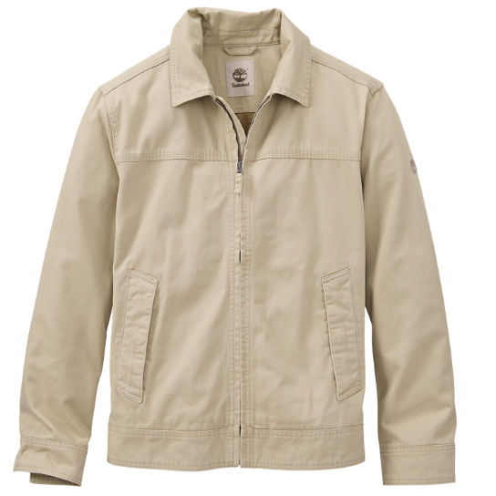 Timberland men's brookfield mountain twill jacket