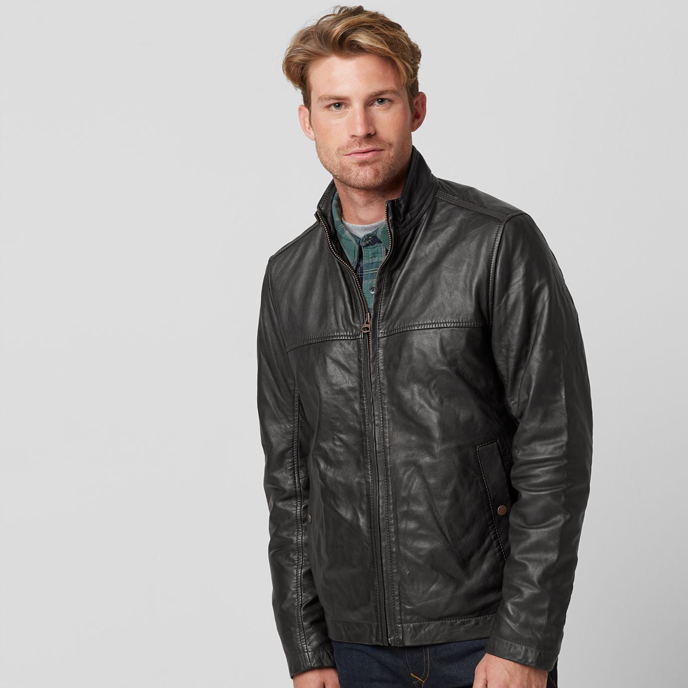 0cadc95bf57 The Iconic Leather Jacket: Timberland leather jackets and the leather jacket  style icons who inspired them
