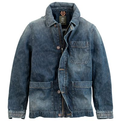 Timberland Men S Mount Stoneham Denim Jacket