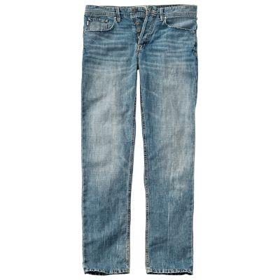 Men's Thompson Lake Slim Fit Linen Denim Pant