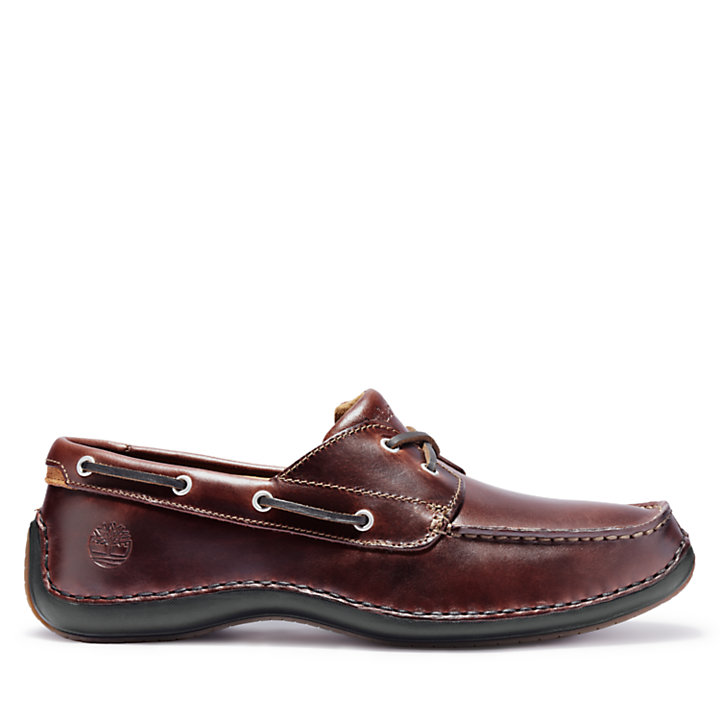 Men's Annapolis 2-Eye Moc Toe Boat Shoes-