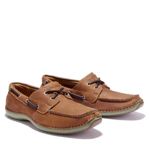 Men's Annapolis 2-Eye Moc Toe Boat Shoes-