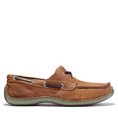 Men's Annapolis 2-Eye Moc Toe Boat Shoes