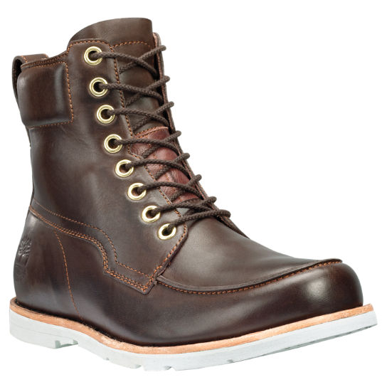 Men S Rugged 6 Inch Moc Toe Boots Timberland Us Store
