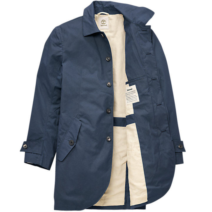 Timberland Men S Premium Waxed Canvas Trench Coat