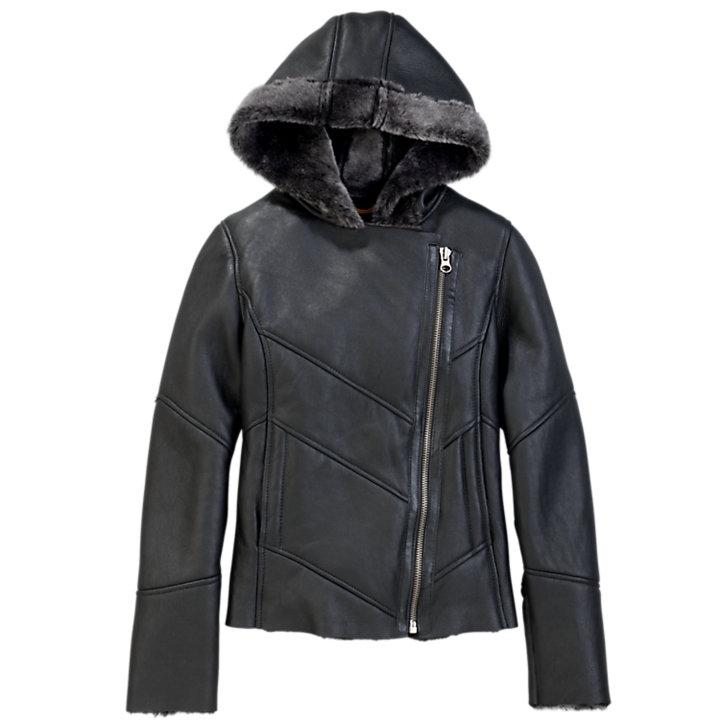 Women's Mount Ellen Shearling Leather Jacket-