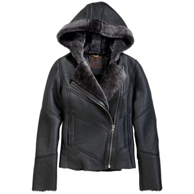 Women's Mount Ellen Shearling Leather Jacket