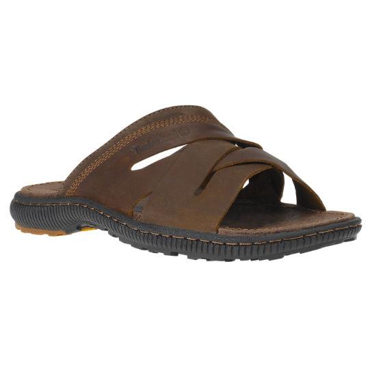 22ae6fb611d3 Men s Hollbrook Leather Slide Sandals