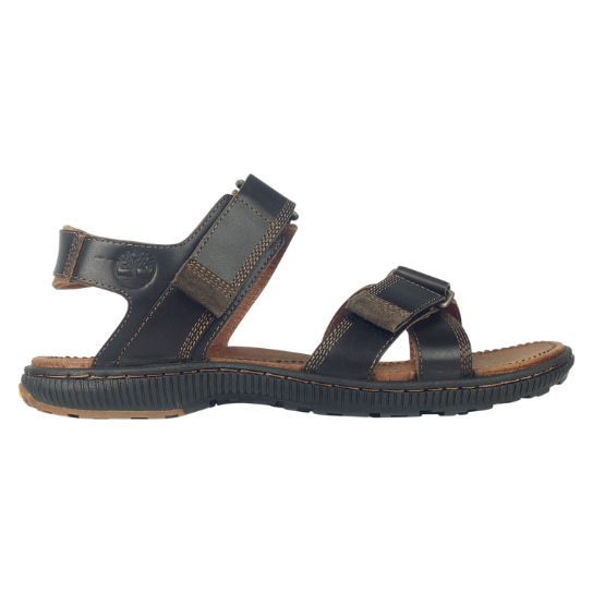 Men S Hollbrook Leather Sandals Timberland Us Store
