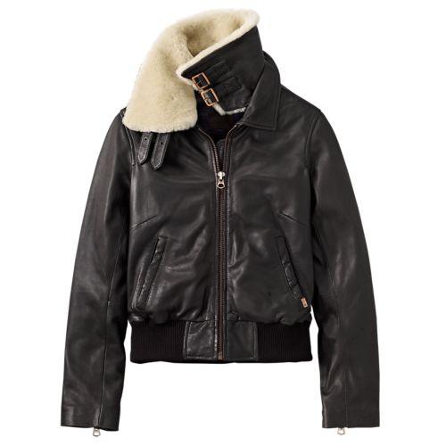 Women's Belknap Leather Jacket-