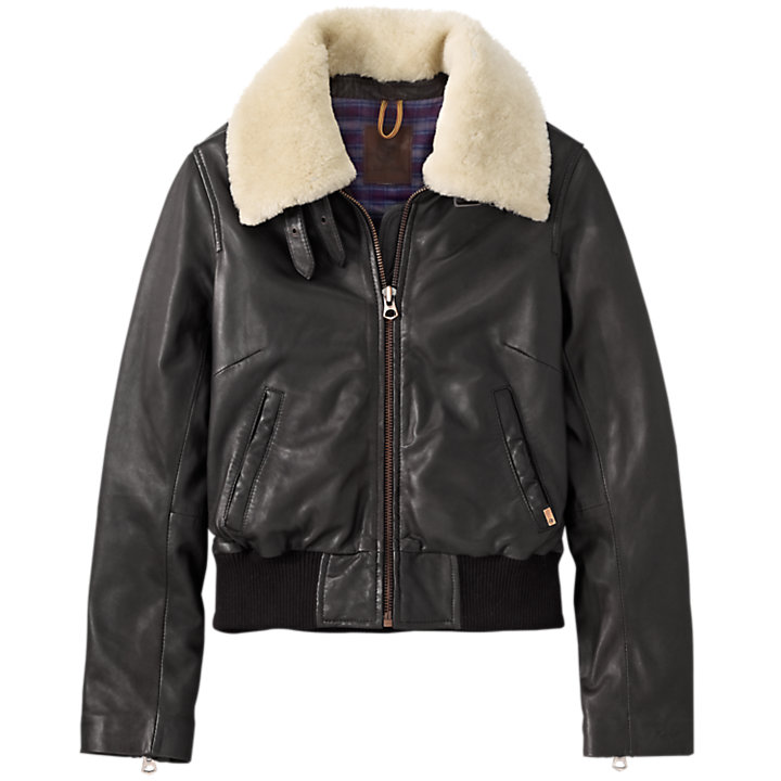 Women's Belknap Leather Jacket-