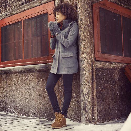 Women's Kibby Mountain Long Wool Parka-