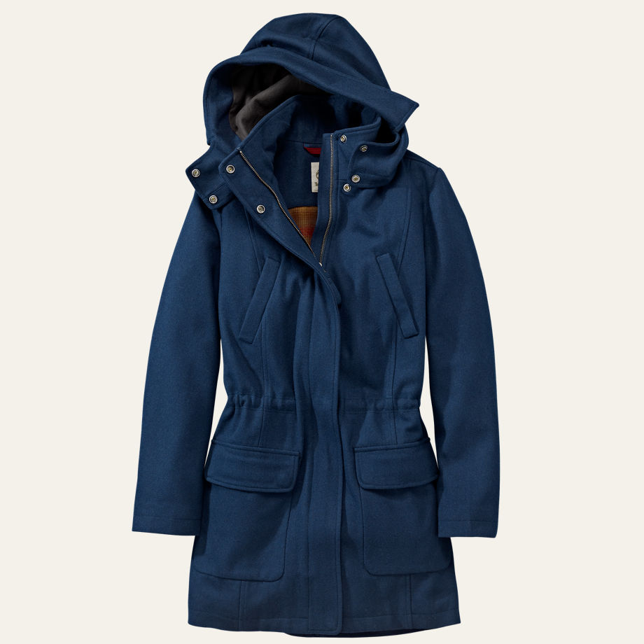 Women's Kibby Mountain Long Wool Parka