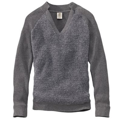 Women's Taylor River Boucle V-Neck Sweater