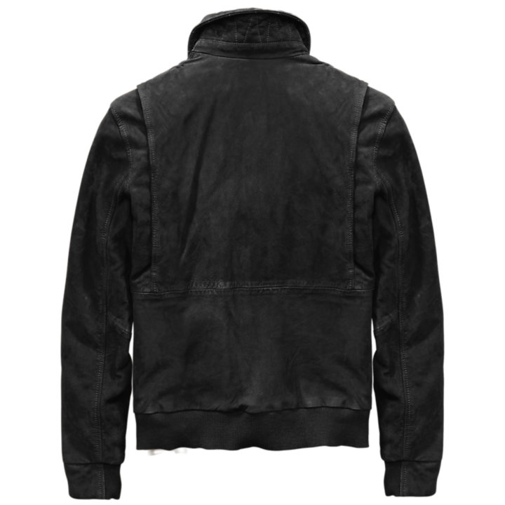 Men's Tenon Leather Bomber Jacket-