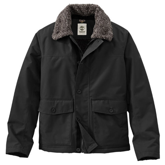 Timberland | Men&39s Rollins Mountain Waterproof Fleece-Lined Bomber