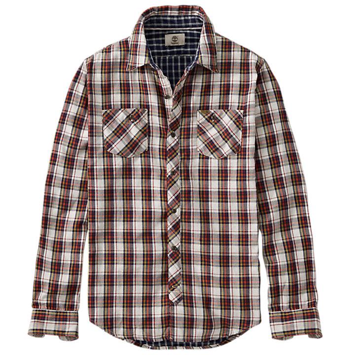 Men's Warner River Slim Fit Double-Layer Shirt-