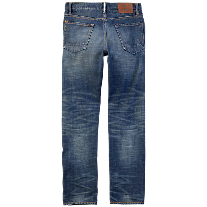Men's Thompson Lake Slim Fit Selvage Denim Pant-