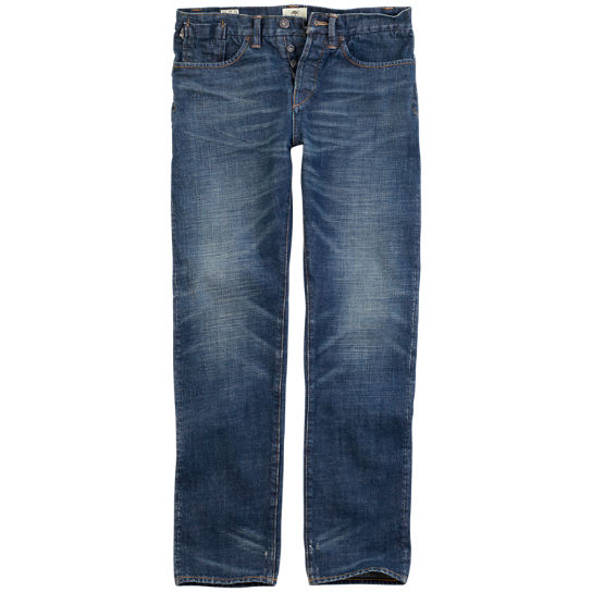 Men's Thompson Lake Slim Fit Selvage Denim Pant