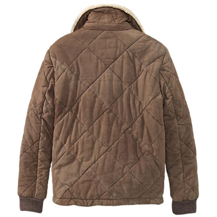 Men's Skye Peak Quilted Leather Jacket-