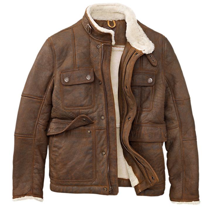 Men's Mount Major Shearling Leather Jacket-