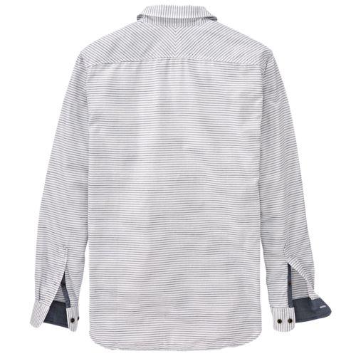 Men's Saco River Slim Fit Striped Oxford Shirt-