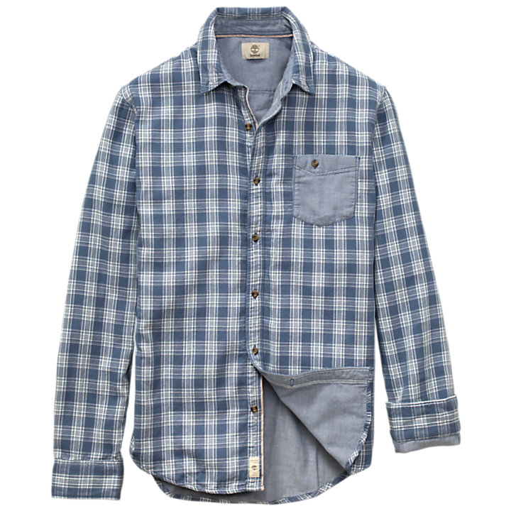 Men's Allendale River Double-Layer Plaid Shirt-