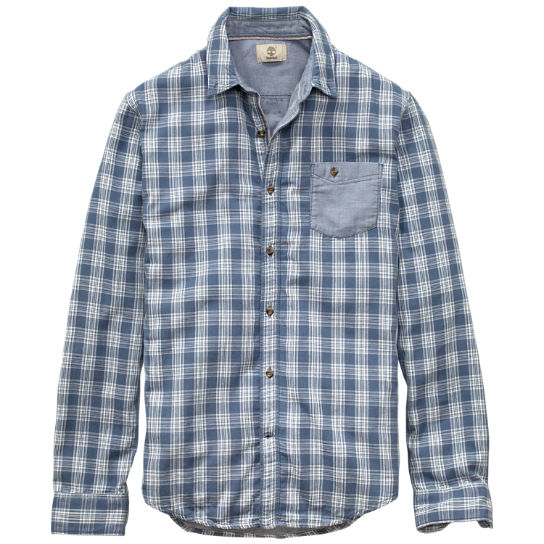 Men's Allendale River Double-Layer Plaid Shirt