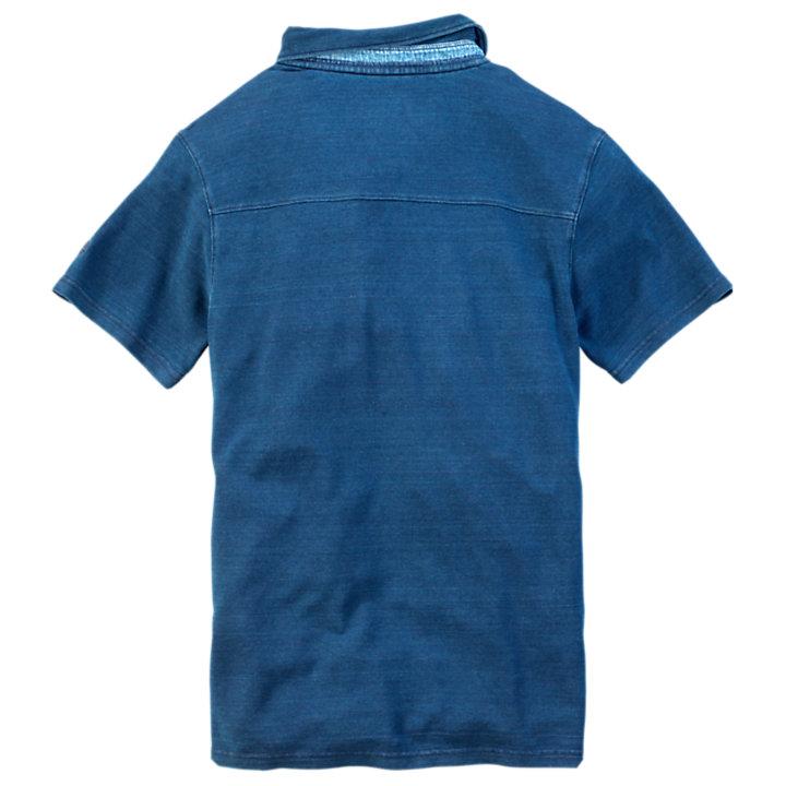 Men's Taunton River Slim Fit Cargo Polo Shirt-