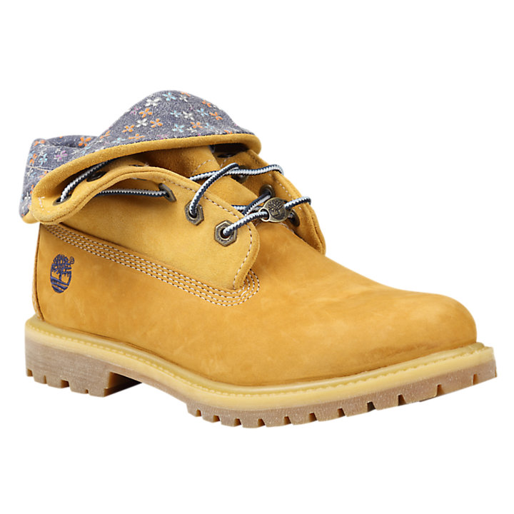 9b96ea86 Women's Timberland® Authentics Roll-Top Boots | Timberland US Store