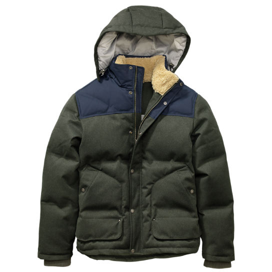 Timberland | Men's Shrewsbury Peak Waterproof Down Jacket