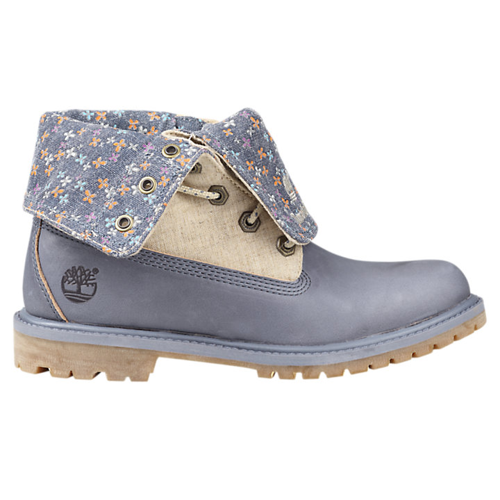 Women's Timberland Authentics Canvas Fold-Down Boots-