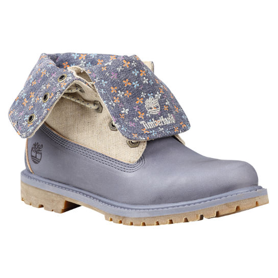 Women's Timberland Authentics Canvas Fold-Down Boots