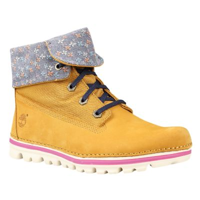 Women's Earthkeepers® Brookton Canvas Roll-Top Boots