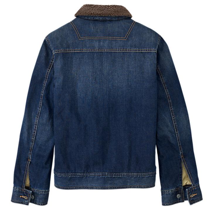 Men's Mirror Lake Fleece-Lined Denim Jacket-