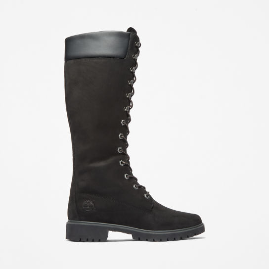 Boots Premium Waterproof Zip Timberland Lace Inch Women's Side 14 qC8xwTZ4