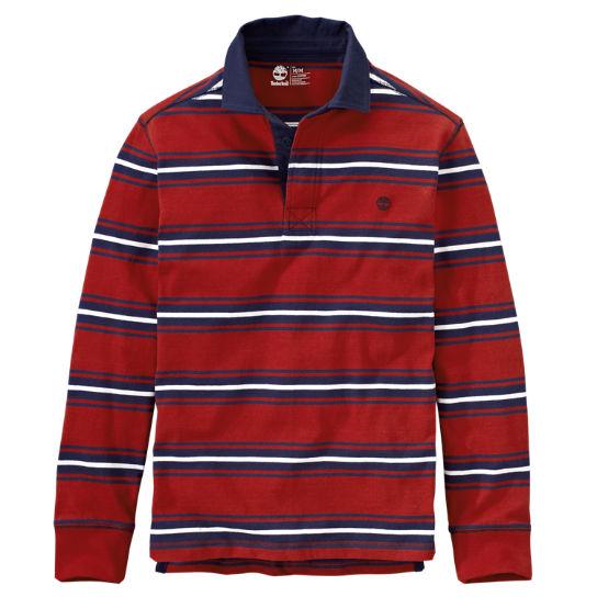 Men S Palmer River Striped Rugby Shirt