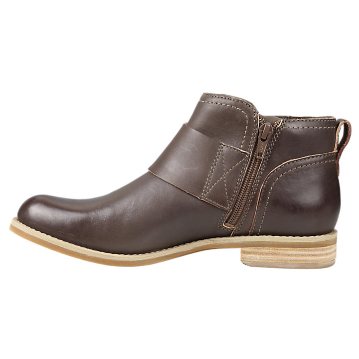 Women's Savin Hill Double-Buckle Leather Ankle Boots-