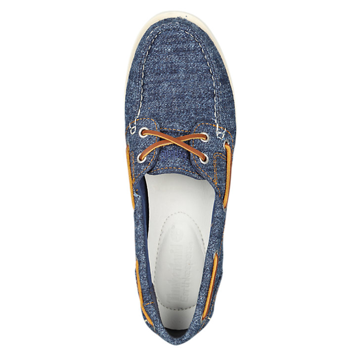 Women's Classic Canvas Boat Shoes-