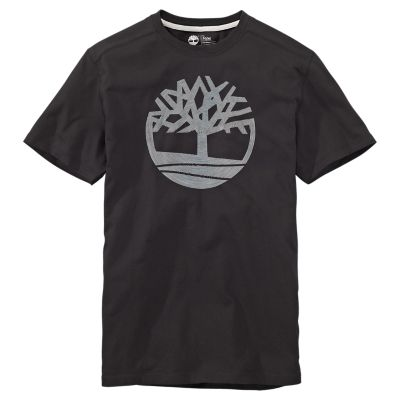 Timberland /'Kennebec River Tree Logo/' T-Shirt Short Sleeved