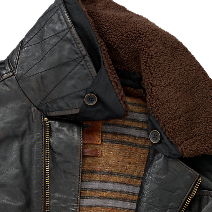 Men's Premium Shearling Leather Ranger Jacket-