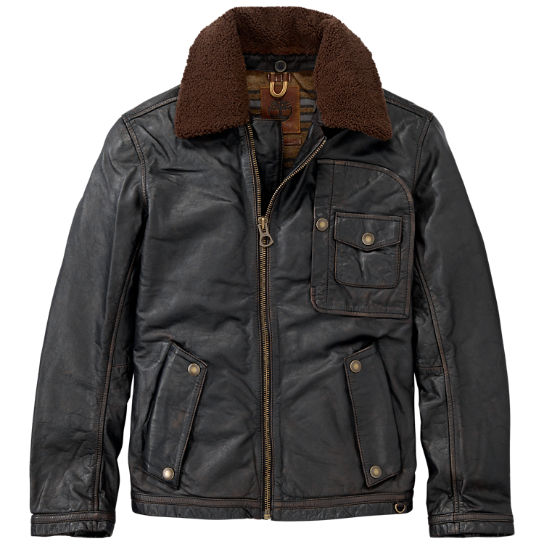 Men's Premium Shearling Leather Ranger Jacket