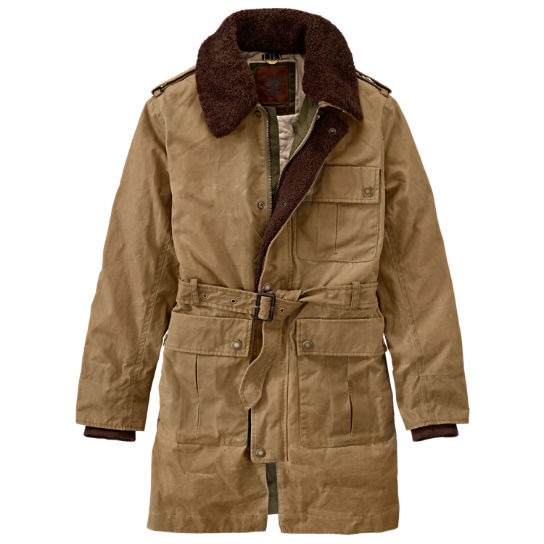 Men's Premium Waxed Car Coat