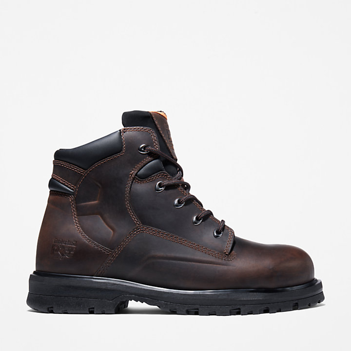 "Men's Timberland PRO® Magnus 6"" Steel Toe Work Boots-"