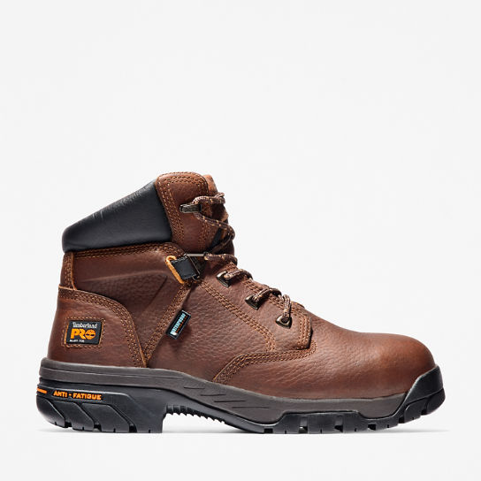"Men's Timberland PRO® Helix 6"" Alloy Toe Work Boots"