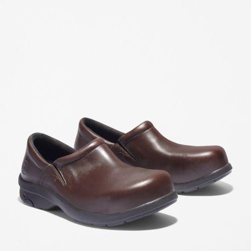 Women's Newbury Casual Alloy Toe Work Shoe-