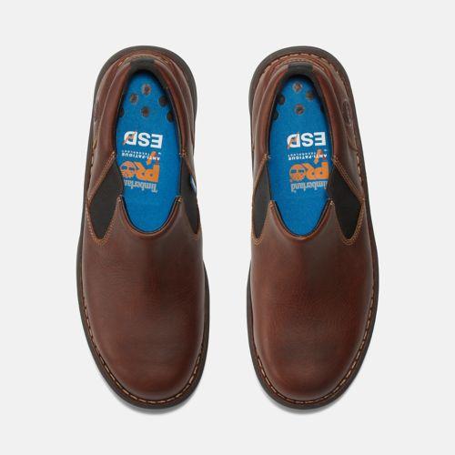 Men's Gladstone Casual Steel Toe Work Shoe-