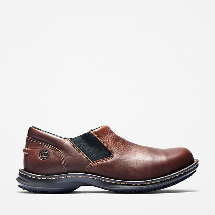 Men's Timberland PRO® Gladstone ESD Steel Toe Slip-On Work Shoes-