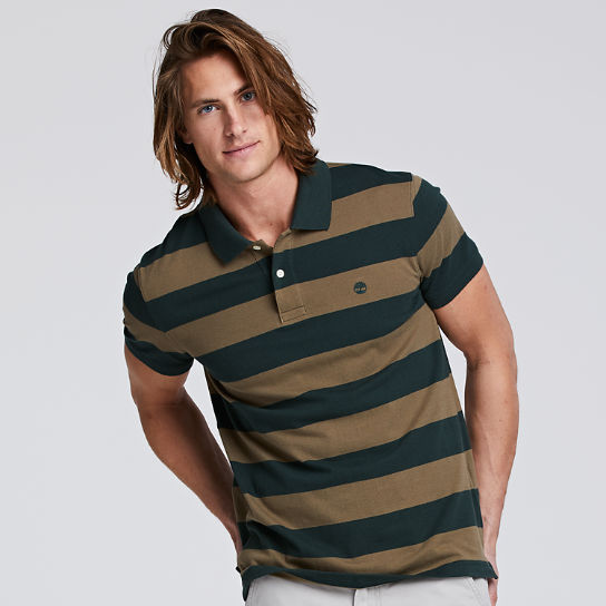 Men's Millers River Striped Rugby Shirt | Timberland US Store
