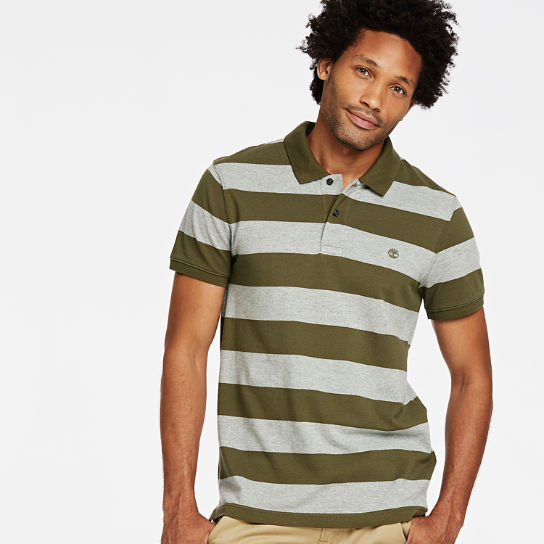 Men's Millers River Striped Rugby Shirt